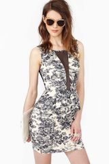 Nasty Gal Meadow Peplum Dress - Lyst