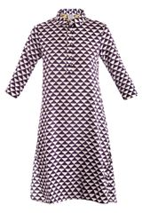 Thierry Colson Angelica Geometricprint Shirt Dress - Lyst