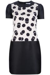 Victoria Beckham Shift Dress - Lyst