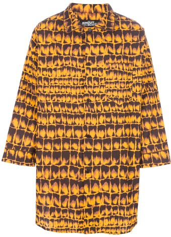Jeremy Scott Oversized Shirt - Lyst