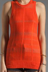 10 Crosby by Derek Lam Shell Tank - Lyst