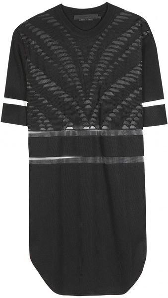 Alexander Wang Hockey Top with Cutout Detail - Lyst