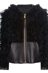 Alexander Wang Zipped Jacket - Lyst