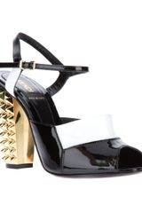 Fendi Ankle Strap Sandals - Lyst