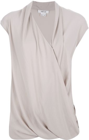 Helmut Lang Cross Over Front Top - Lyst