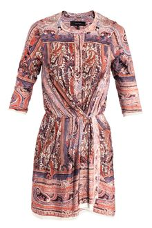 Isabel Marant Maryloe Mankolam-Paisley Jersey Dress - Lyst