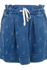 Marc By Marc Jacobs Polka Dot Skirt - Lyst