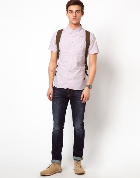 Pink Oxford Shirt Youth Oxford Shirt in Pink