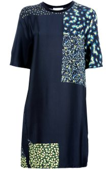 3.1 Phillip Lim Mixed Print Shift Dress - Lyst