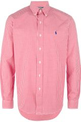 Polo Ralph Lauren Gingham Button Down Shirt - Lyst