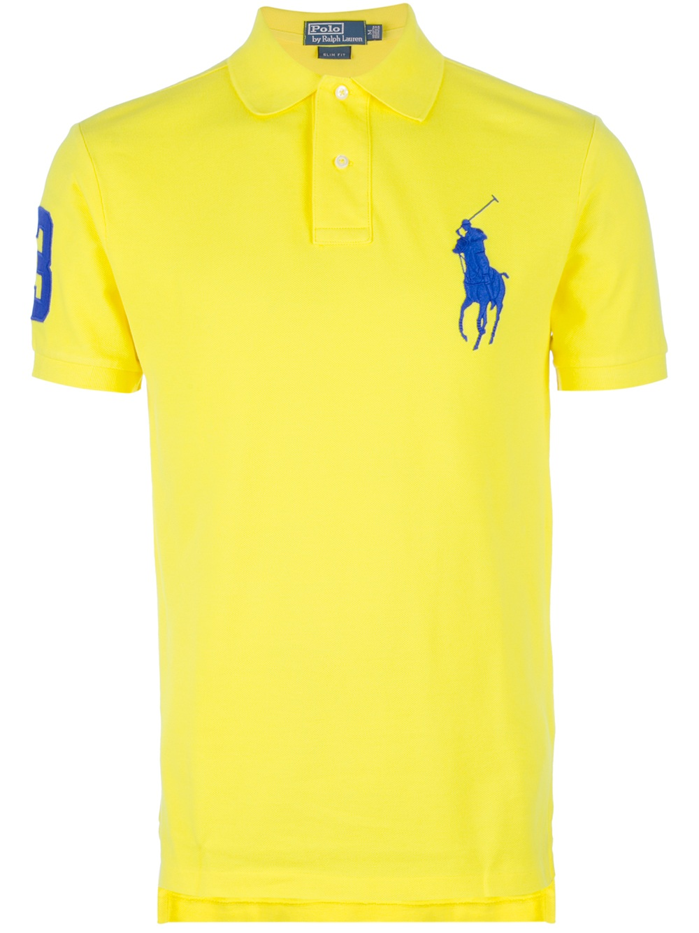 Polo Ralph Lauren Big Pony Polo Shirt In Yellow For Men Lyst