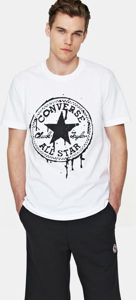 Converse Drippy Chuck Patch T-Shirt - Lyst