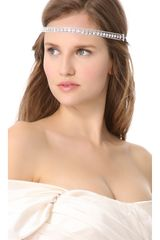 Dauphines Of New York The Angel Headband - Lyst