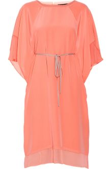 Elizabeth And James Tali Silkcrepe Kaftan Dress - Lyst