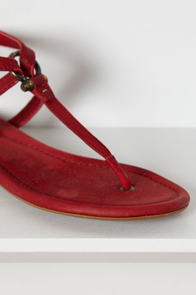Frye Madison Strappy Sandals In Red Lyst