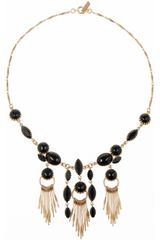 Isabel Marant Swarovski Crystal Necklace - Lyst