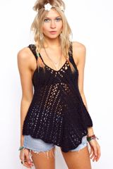 ASOS Collection Crochet Village Swing Vest