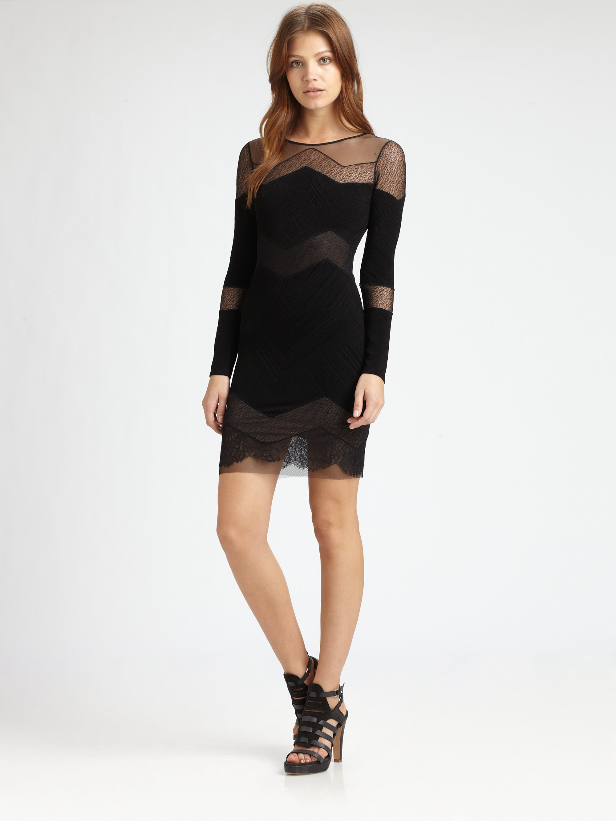 Camila tulle and lace cocktail dress