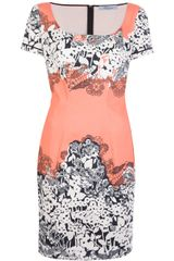 Blumarine Printed Dress - Lyst