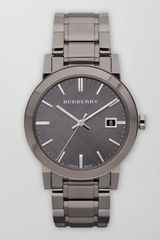 Burberry Sunray Check Watch - Lyst