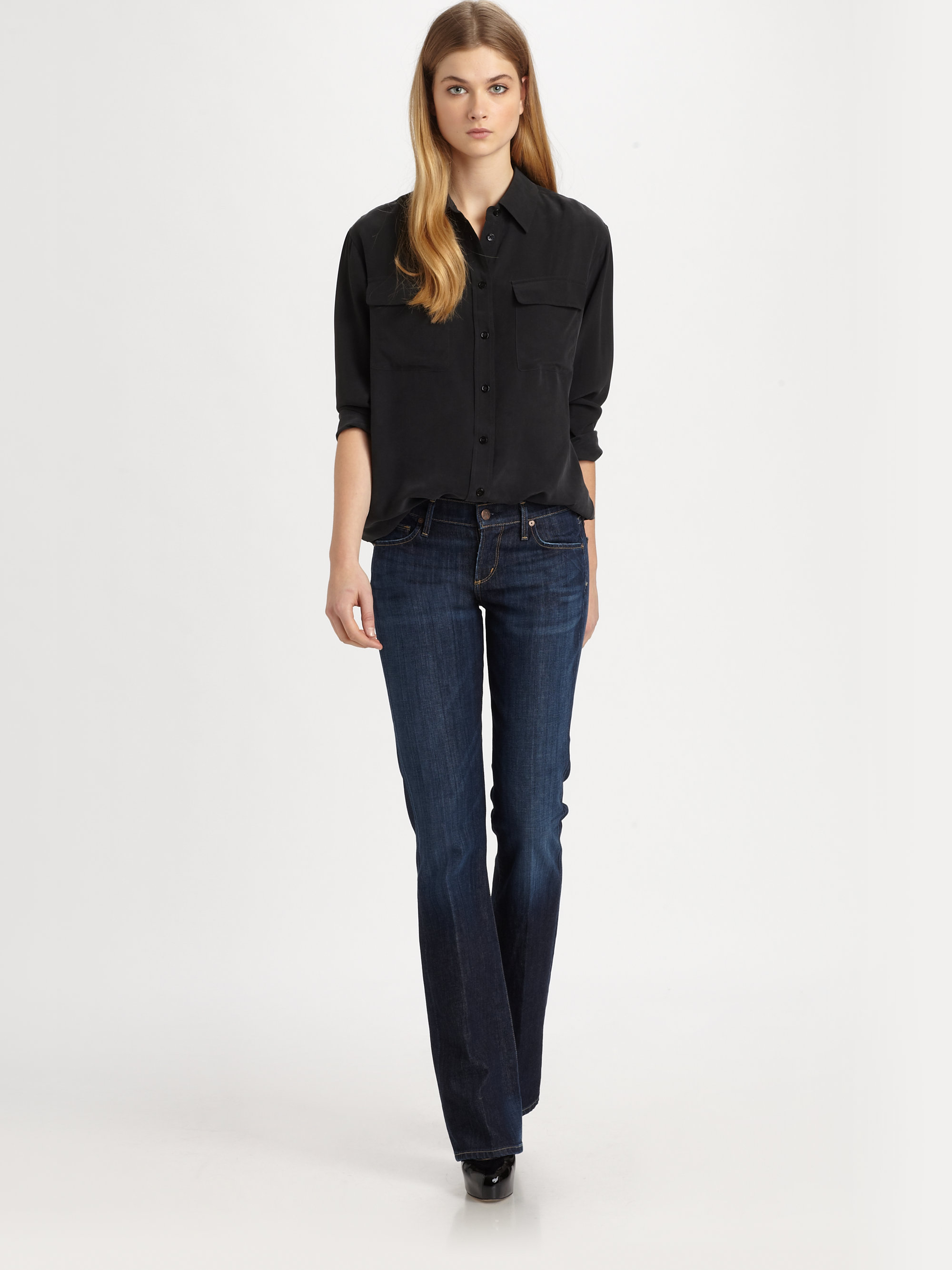 52102acf5a3 Citizens of Humanity Kelly Bootcut Jeans in Blue - Lyst