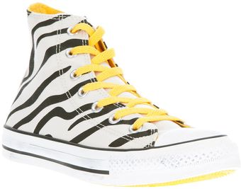 Converse Printed High Top Trainer - Lyst