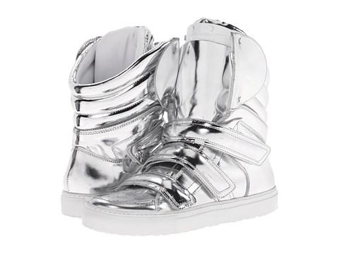 Sneaker high - silver jN6spGYX4P