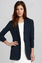 Elizabeth And James Jamie Long Crepe Blazer - Lyst