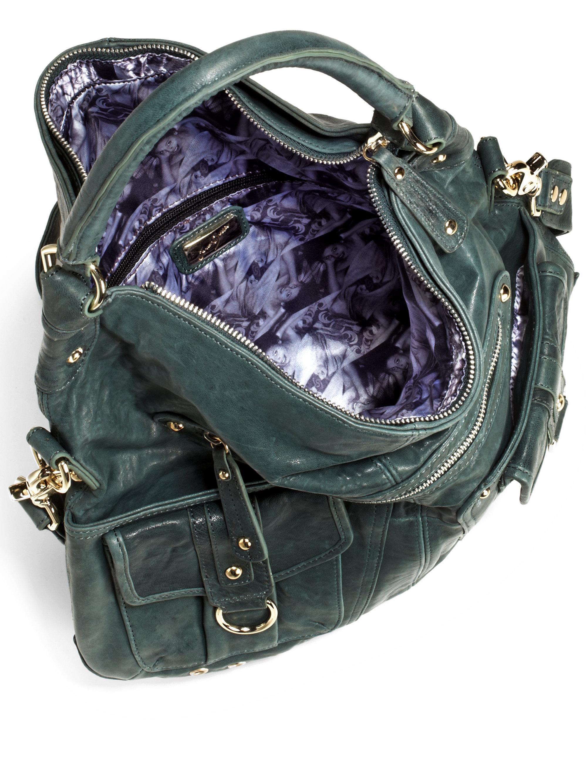 Lyst - Junior Drake Convertible Cross Body Bag in Green