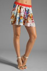 Love Zooey Skirt Shorts - Lyst