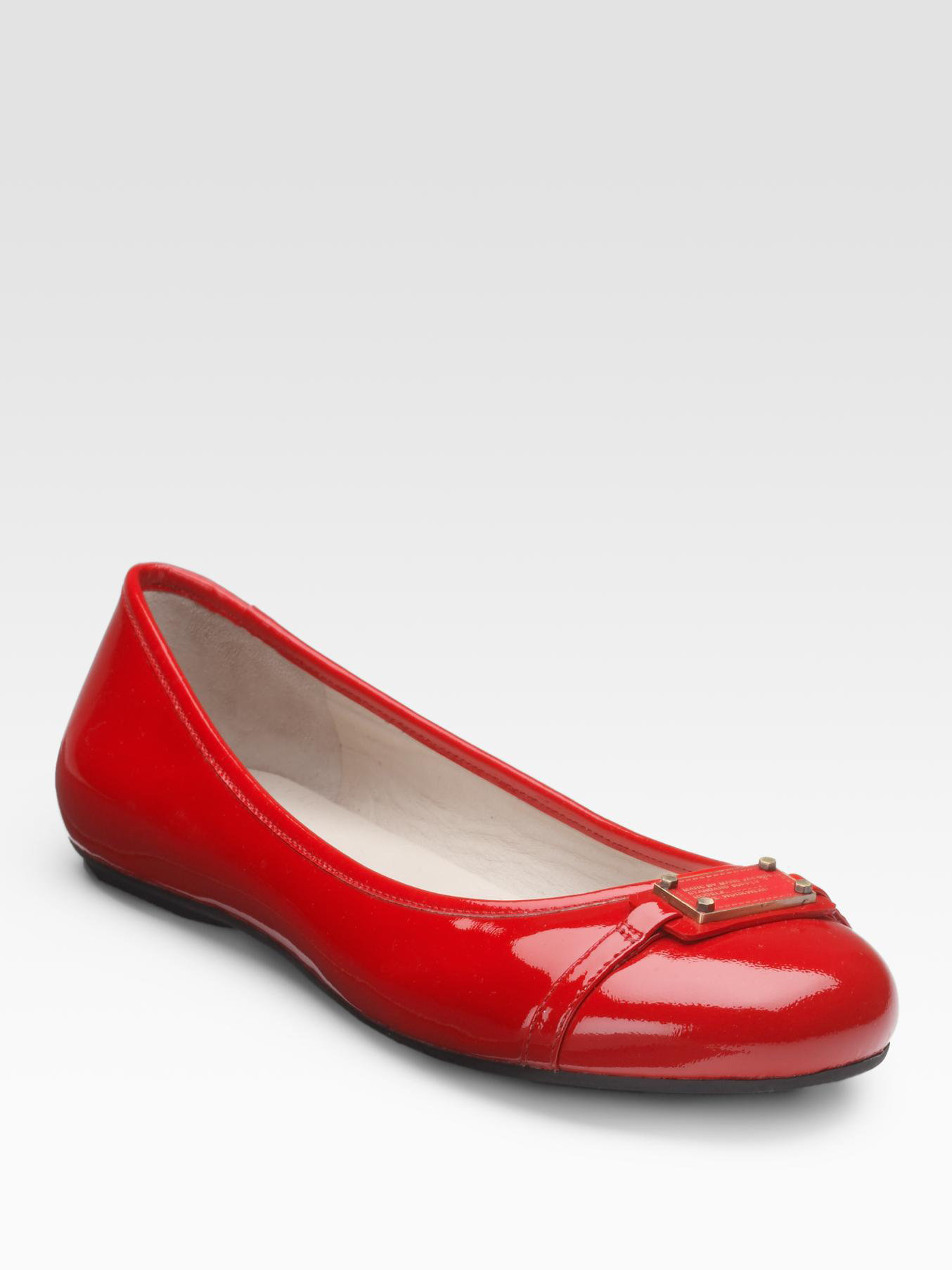 Anne Klein Red Patent Leather Shoes