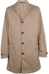 Mauro Grifoni Single Breasted Trench Coat - Lyst