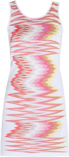 Missoni Knitted Zz Lurex Dress - Lyst