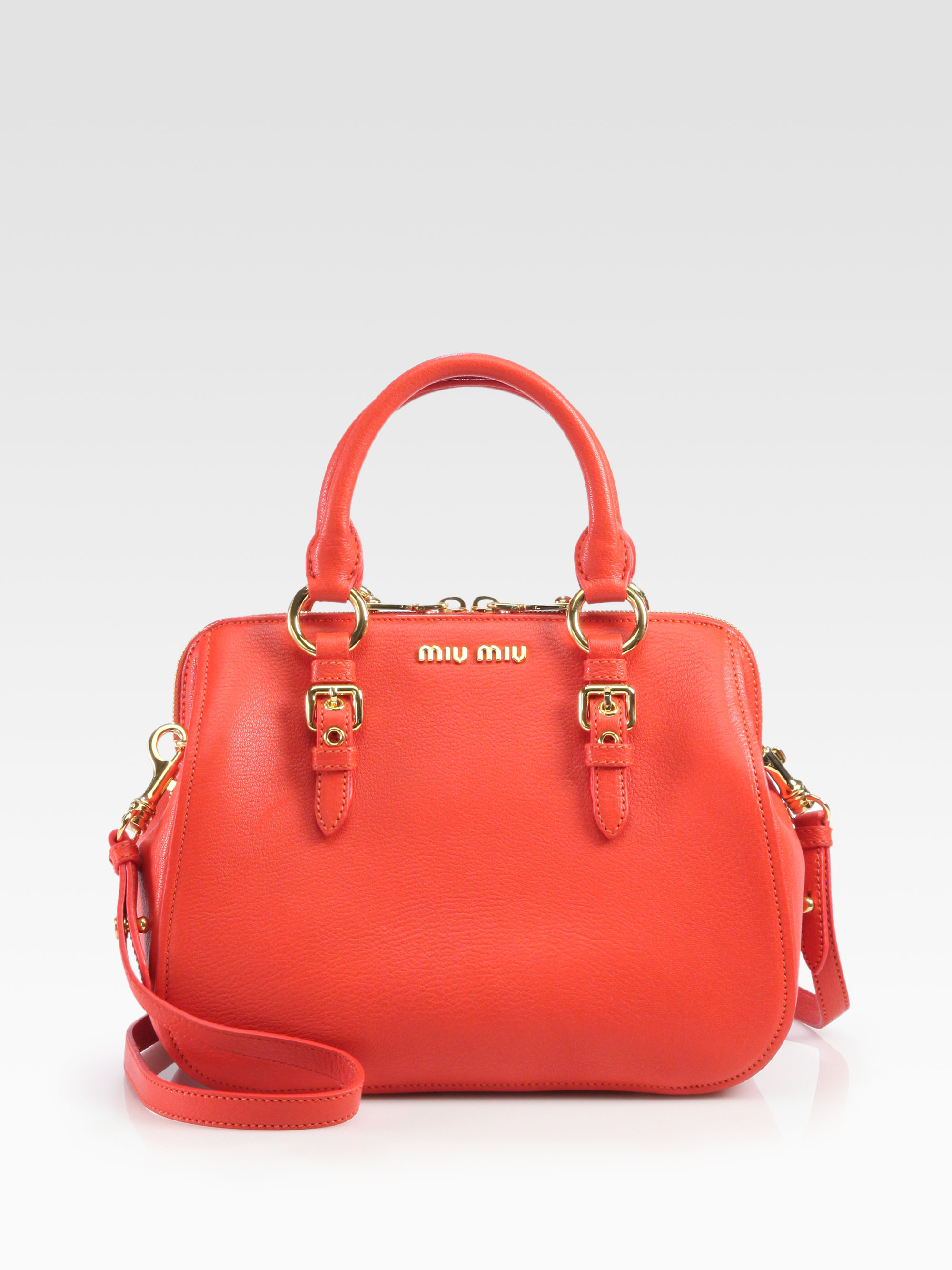 Miu Miu Small Red Bag