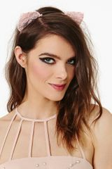 Nasty Gal Kitty Cat Headband - Lyst