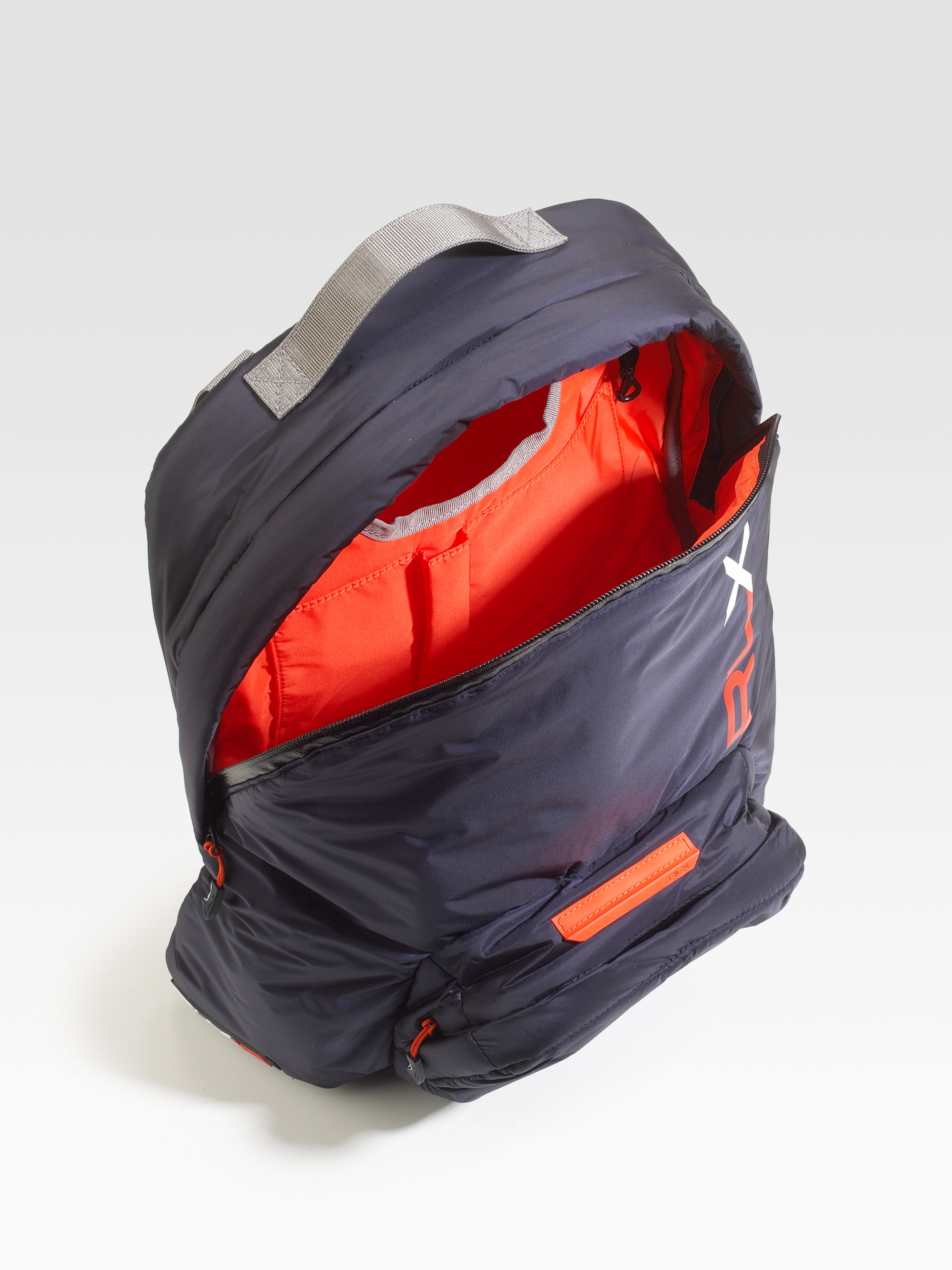 e5b4e11329 Lyst - RLX Ralph Lauren Puffer Backpack in Blue for Men