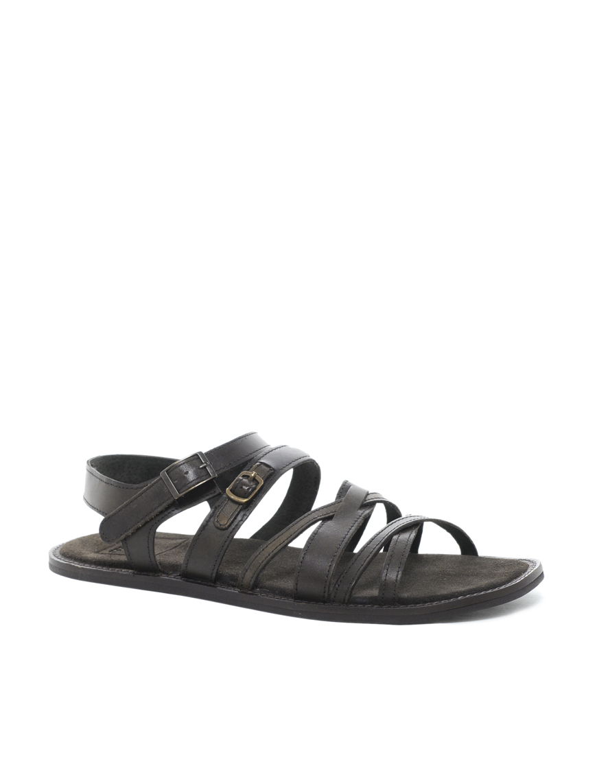 G-star Raw Asos Sandals in Leather in Black for Men (Brown ...
