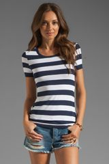 Bailey 44 Bold Stripe Tee in Navywhite - Lyst