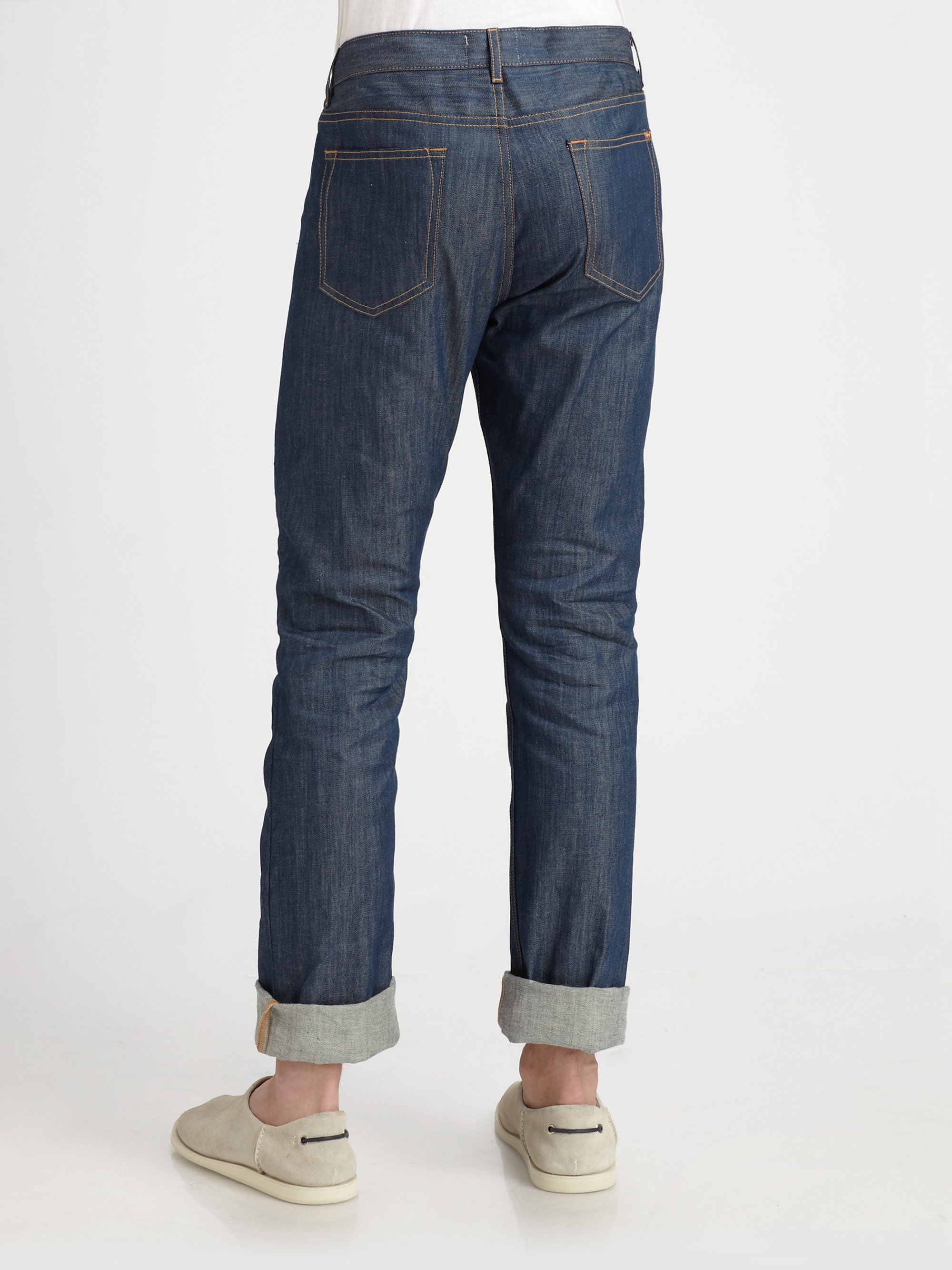 DENIM - Denim trousers Band Of Outsiders