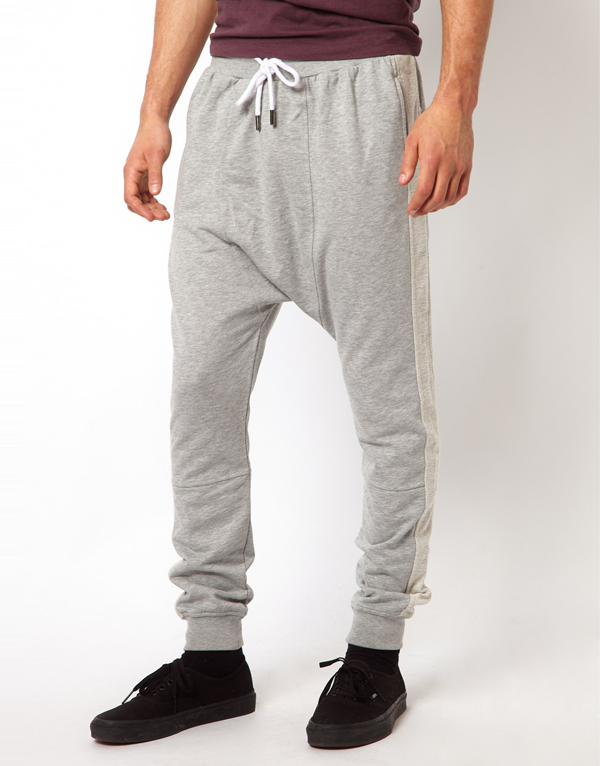 Lyst Blood Brother Sweatpants In Gray For Men