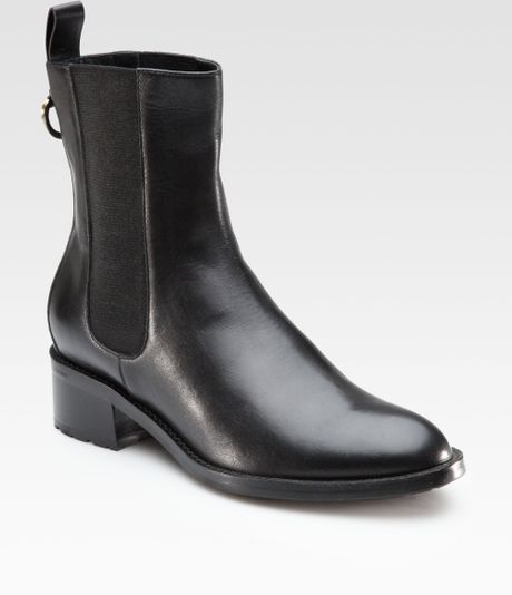 cole haan air even leather ankle boots in black lyst