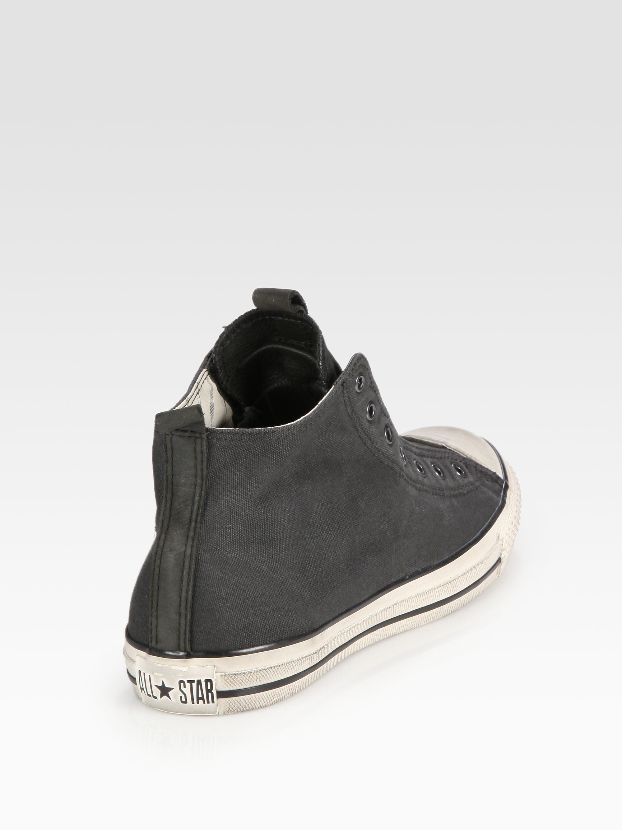 Converse John Varvatos Laceless Canvas Hightop Sneakers in ...
