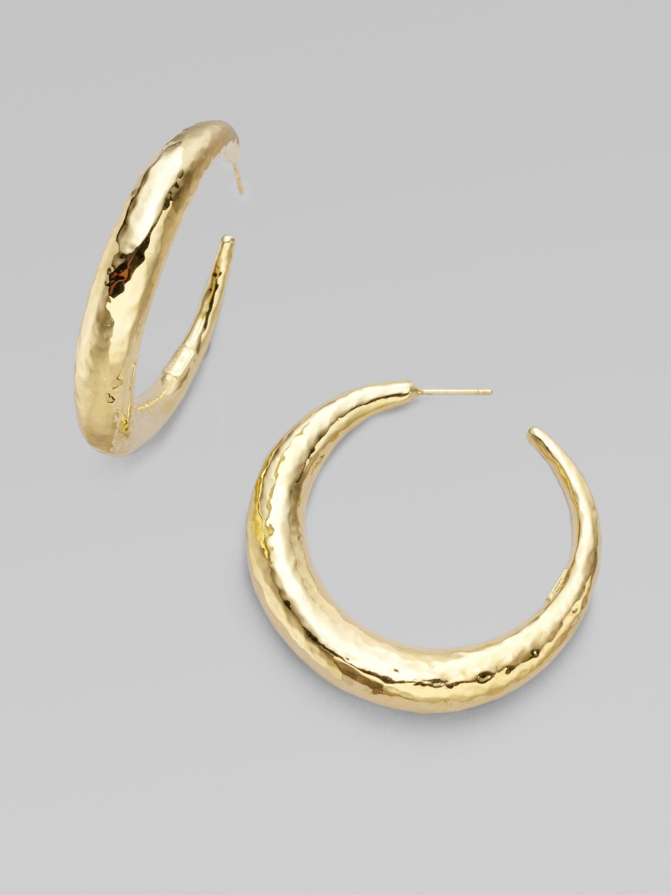 little products earrings hoop gold switzerland jewellery