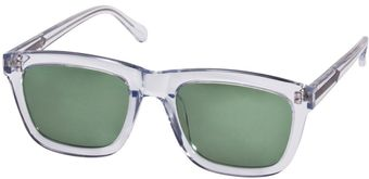 Karen Walker Clear Deep Freeze Sunglasses - Lyst