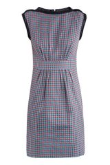 Marc By Marc Jacobs Clovercheck Sleeveless Dress - Lyst