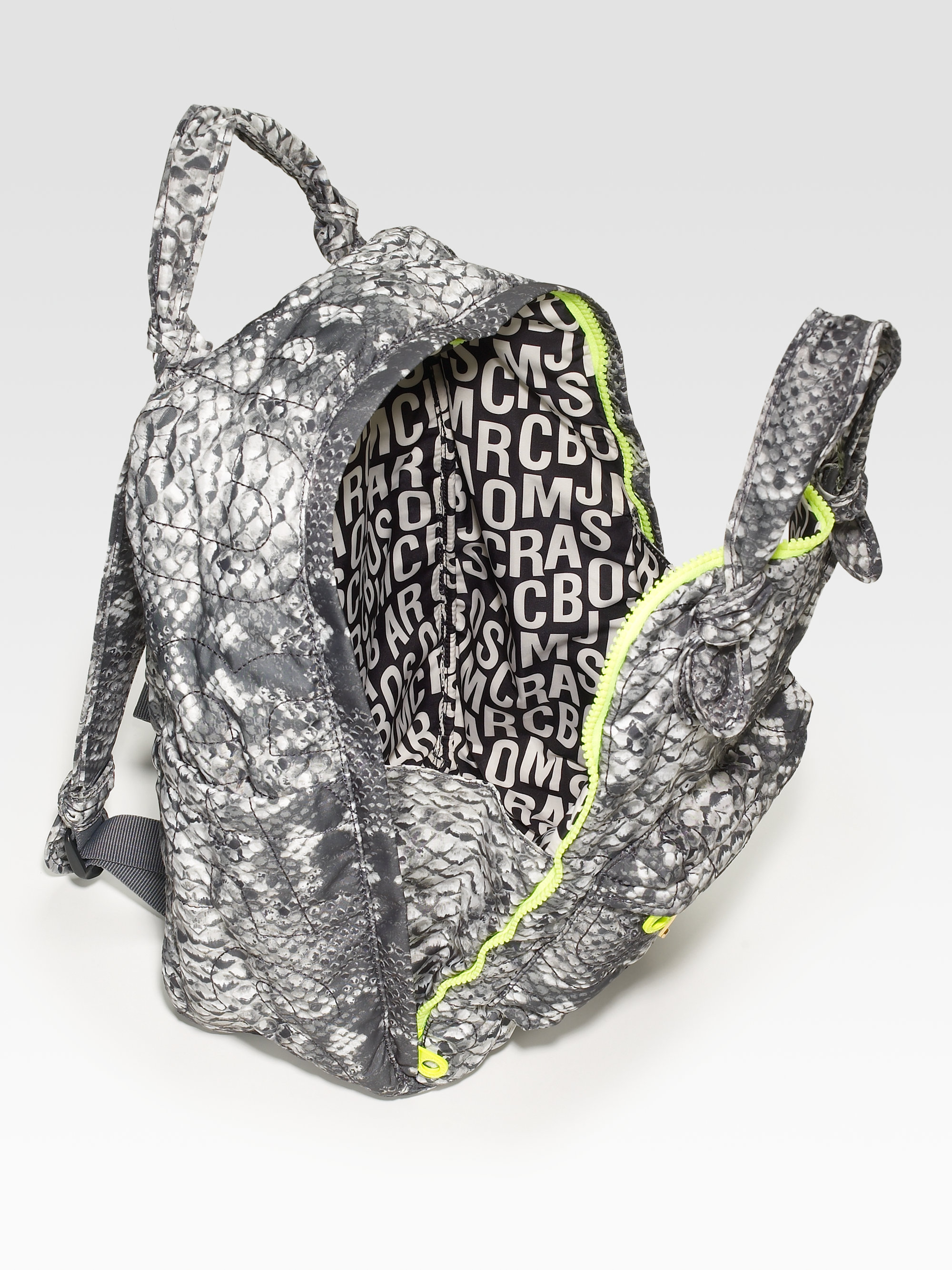 88971d2b3129 Lyst - Marc By Marc Jacobs Pretty Nylon Printed Backpack in Gray