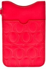 McQ by Alexander McQueen Logo Embossed Phone Case - Lyst