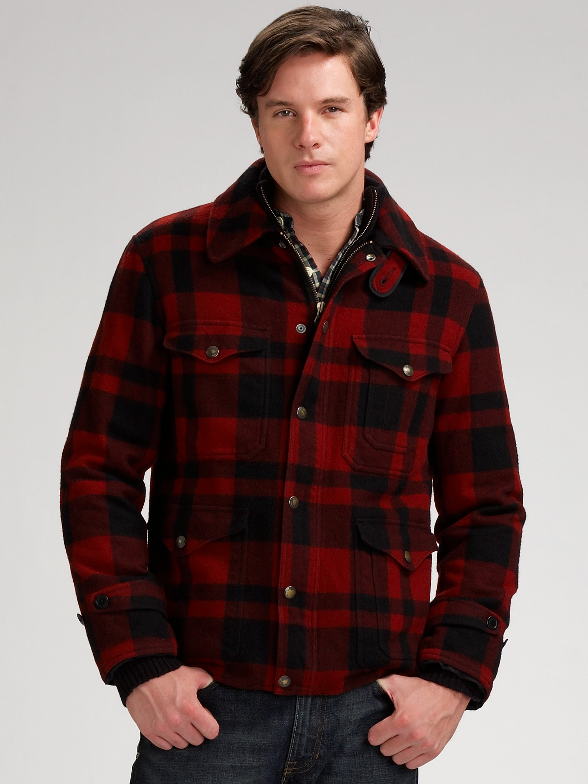 Lyst Polo Ralph Lauren Rockwell Thicket Jacket In Black