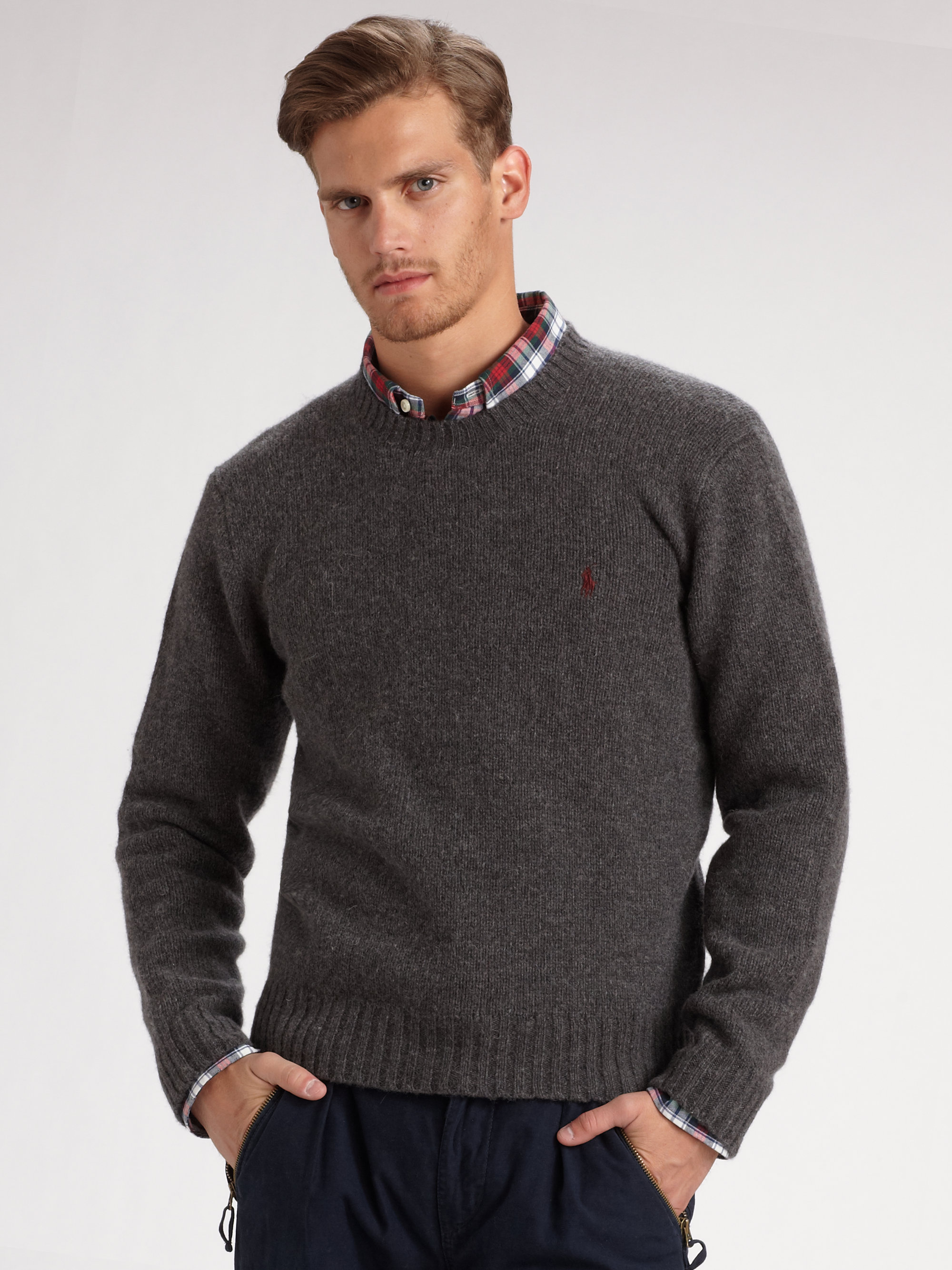 Ralph Lauren Mens Crew Neck Sweaters