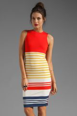 By Malene Birger Wide Stripe Sello Dress - Lyst